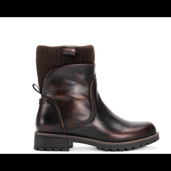 MUK LUKS Women's Bobbi Boot Copper / Brown